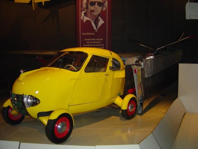 「空飛ぶ車」なんて昔からあった!エアロカーなど「空陸両用」を目指した車たち